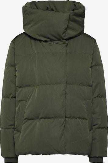 OBJECT Veste d'hiver 'LOUISE' en vert foncé, Vue avec produit