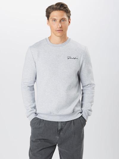 River Island Sweat-shirt en gris clair: Vue de face