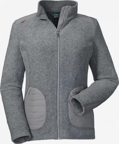 Schöffel Jacke 'Tscherms2' in dunkelgrau / graumeliert, Produktansicht