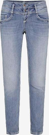 Soccx Light Used Jeans KA:RA mit Doppelknopf in hellblau, Produktansicht