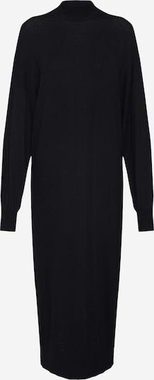 Megzta suknelė 'Idoia' iš EDITED , spalva - juoda: Vaizdas iš priekio