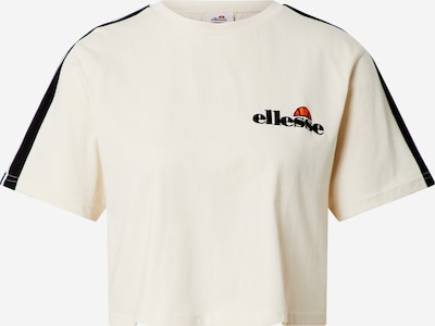 ELLESSE T-shirt 'AMARILLO' en beige / noir / blanc, Vue avec produit