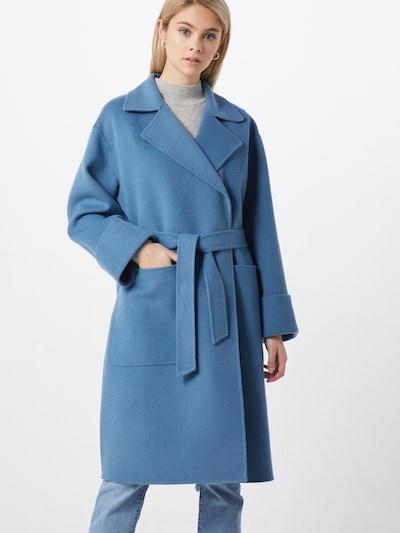 Whistles Mantel in blau, Modelansicht