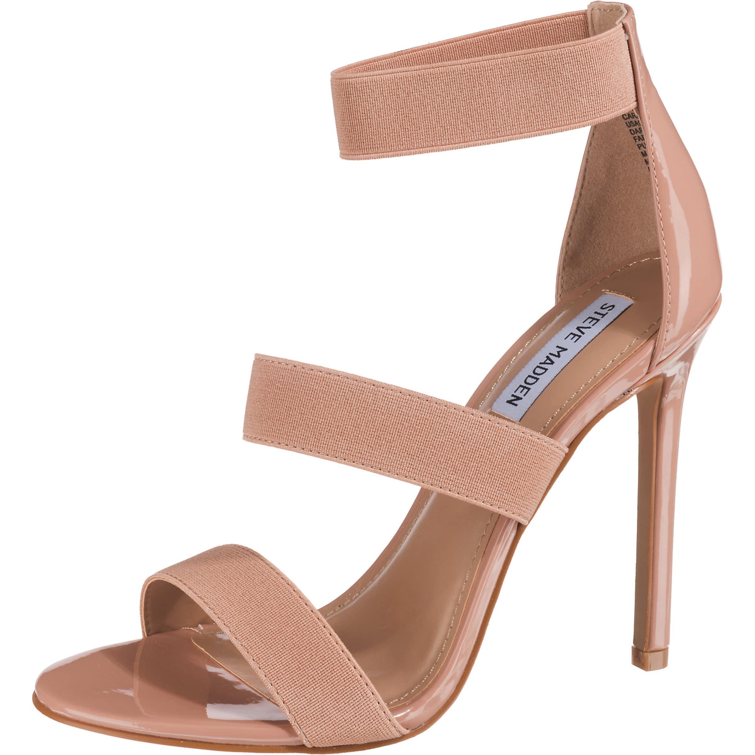 STEVE MADDEN Klassische Sandalette in nude