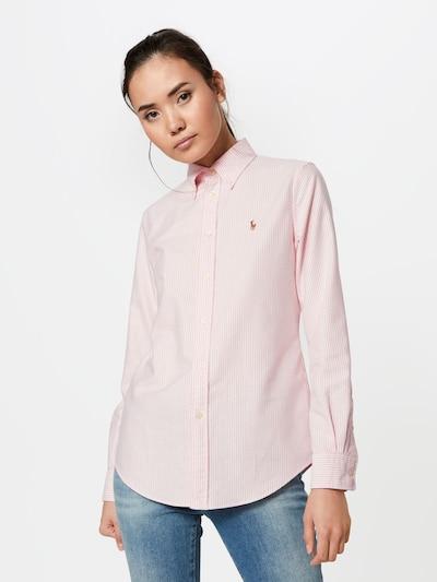 POLO RALPH LAUREN Bluza u roza / bijela, Prikaz modela