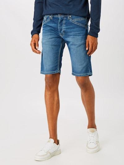 Pepe Jeans Teksapüksid 'TRACK' sinine denim: Eestvaade
