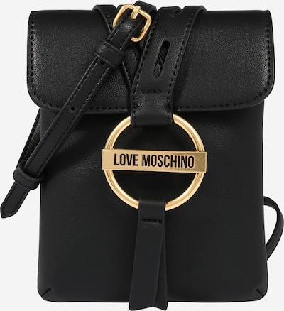 Love Moschino Taška cez rameno 'Borsa' - zlatá / čierna: Pohľad spredu