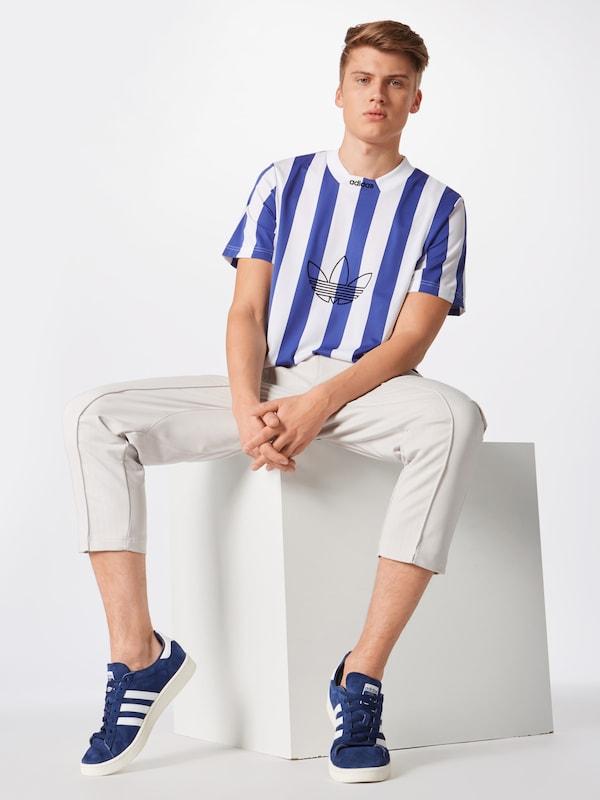 T 'es En shirt Originals Ply' BleuBlanc Adidas OPkXiuTZ