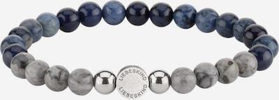 Liebeskind Berlin Armband 'LJ-0091-B-17' in navy / grau, Produktansicht