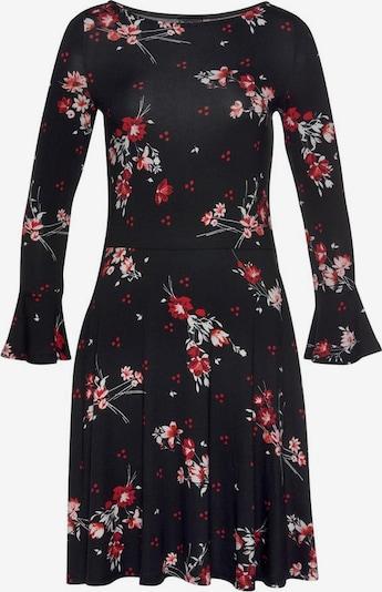 LAURA SCOTT Kleid in rot / schwarz / weiß, Produktansicht