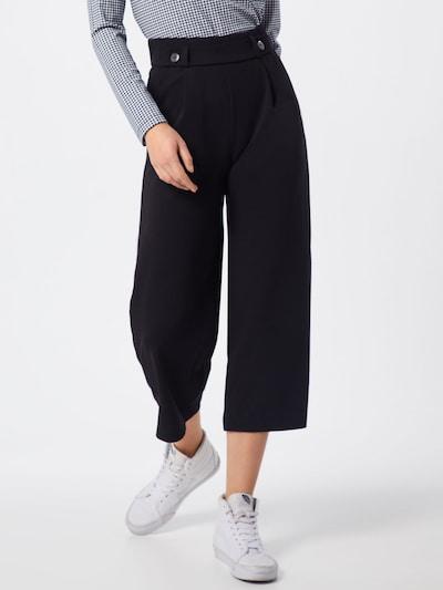 JACQUELINE de YONG Pantalon à pince 'GEGGO' en noir, Vue avec modèle