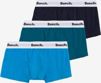 BENCH Onderbroek in de kleur Navy / Hemelsblauw / Petrol: Vooraanzicht