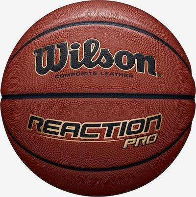WILSON Ball in braun / schwarz, Produktansicht