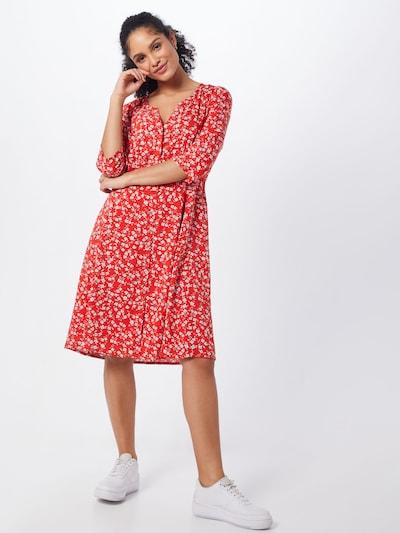 Cream Kleid 'Daisy' in rot / weiß, Modelansicht