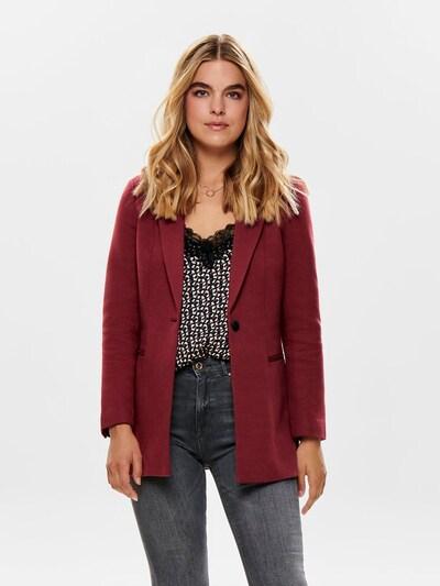 ONLY Blazer in burgunder, Modelansicht