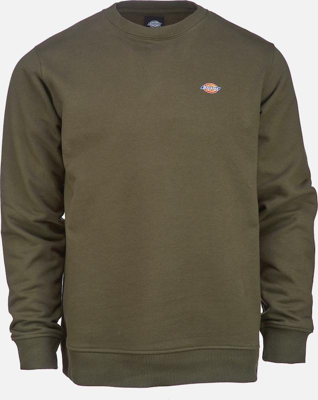 DICKIES Sweatshirt 'Seabrook' in khaki  Freizeit, schlank, schlank