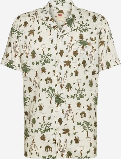 LEVI'S Košile - hnědá / olivová / offwhite, Produkt