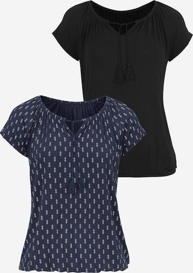VIVANCE Majica u mornarsko plava / crna, Pregled proizvoda