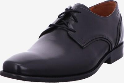 Van Lier Schnürschuh in schwarz, Produktansicht