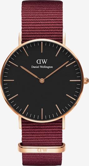 Daniel Wellington Uhr 'Classic 36 Roselyn' in rosegold / feuerrot / schwarz, Produktansicht