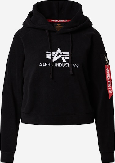 ALPHA INDUSTRIES Sweater majica 'Polar Fleece' u crna, Pregled proizvoda