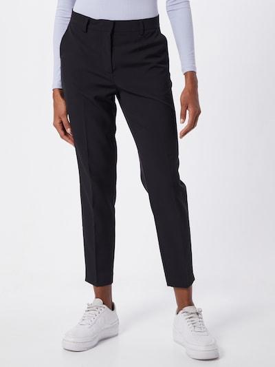 ICHI Hose in schwarz, Modelansicht