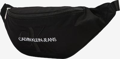 Calvin Klein Jeans Torbica za okrog pasu 'MONOGRAM STREET PACK' | črna barva, Prikaz izdelka