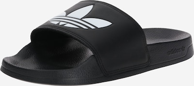 ADIDAS ORIGINALS Klapki 'ADILETTE LITE' w kolorze czarny / białym, Podgląd produktu