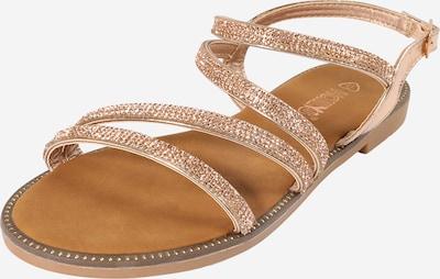 Hailys Sandale 'Sunny' in gold / rosé, Produktansicht