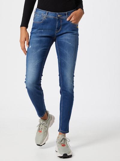 Gang Džinsi 'FAYE' zils džinss, Modeļa skats