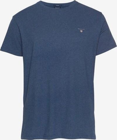 GANT T-Shirt in taubenblau, Produktansicht