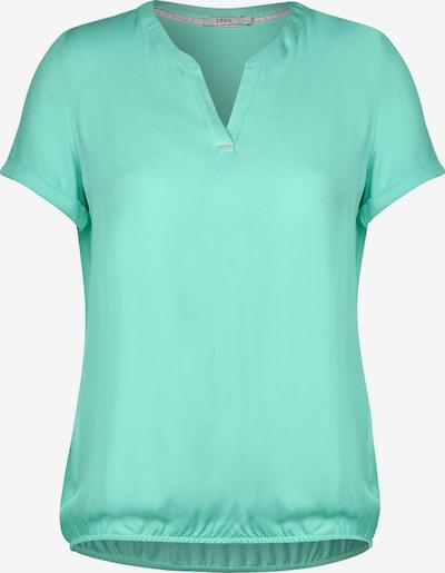 CECIL Lässige Bluse in Unifarbe in grün, Produktansicht