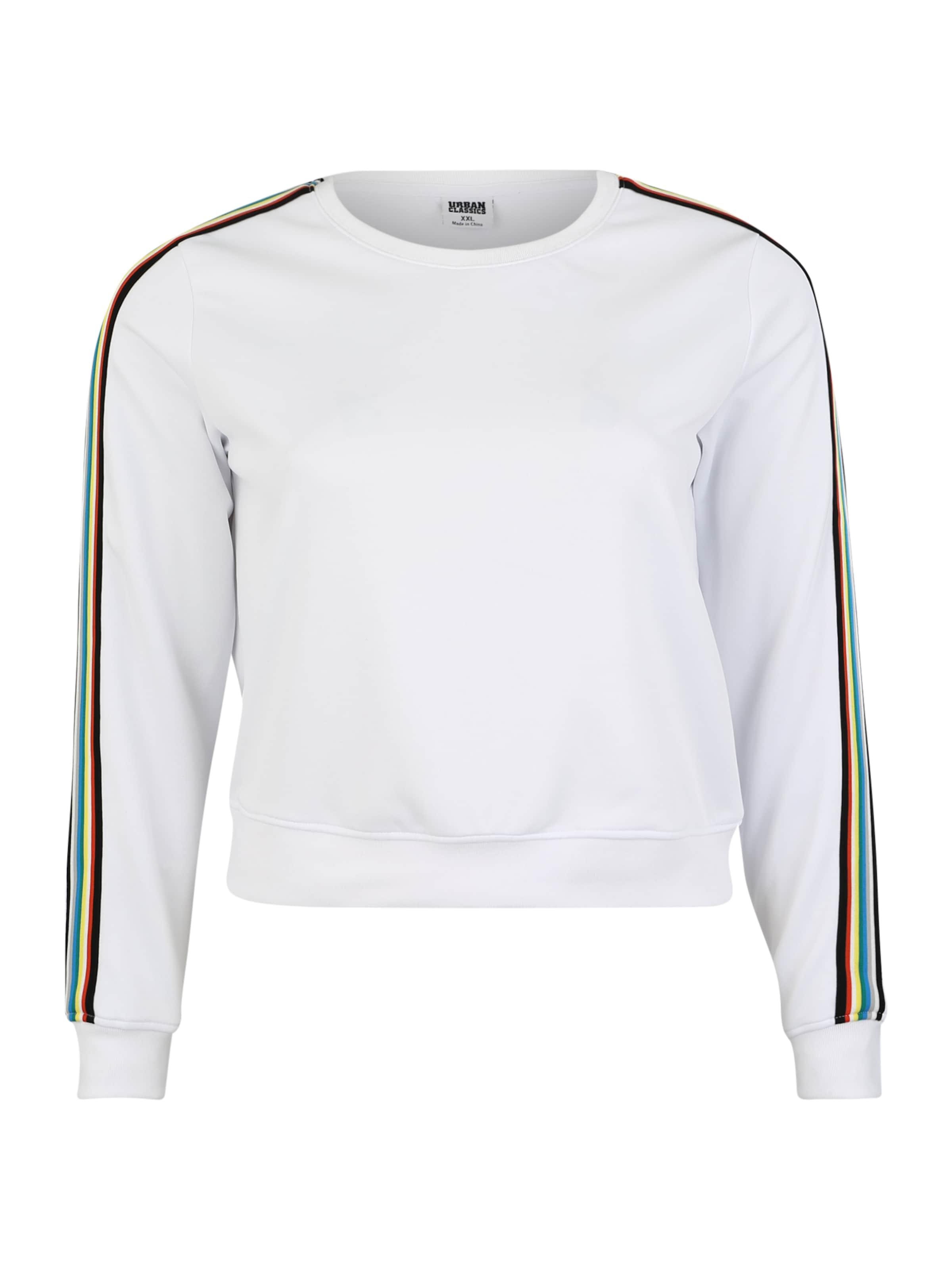 Urban Classics Curvy Sweatshirt In MischfarbenWeiß wNmOv8n0