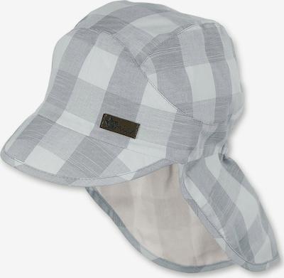 STERNTALER Schirmmütze in grau / weiß, Produktansicht
