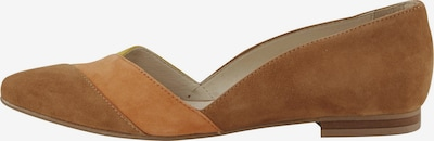 heine Ballerina in braun / gelb, Produktansicht