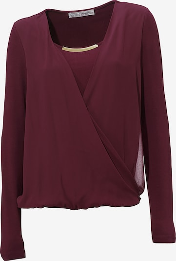 heine Blouse in wine red, Item view