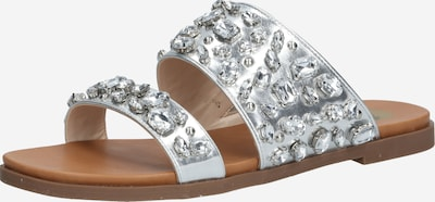 BUFFALO Sandale in silber, Produktansicht