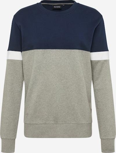 recolution Sweat-shirt en bleu marine / gris, Vue avec produit