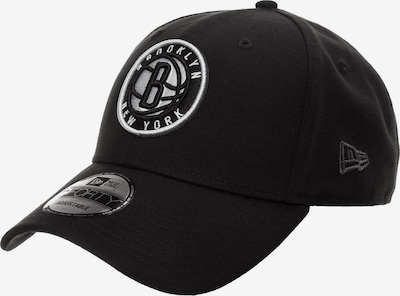 NEW ERA Cap '9FORTY NBA Brooklyn Nets' in schwarz / weiß, Produktansicht