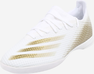 ADIDAS PERFORMANCE Voetbalschoen 'X Ghosted.3 IN' in de kleur Goud / Wit, Productweergave