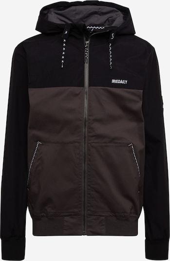 Iriedaily Jacke in grau / schwarz, Produktansicht