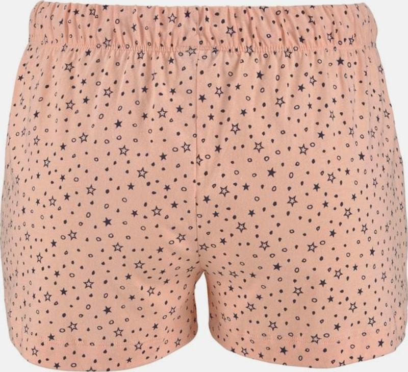 Lascana Shorts Im Alloverprint Mit Bindekordel