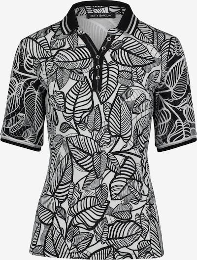 Betty Barclay Shirt in de kleur Zwart / Wit, Productweergave
