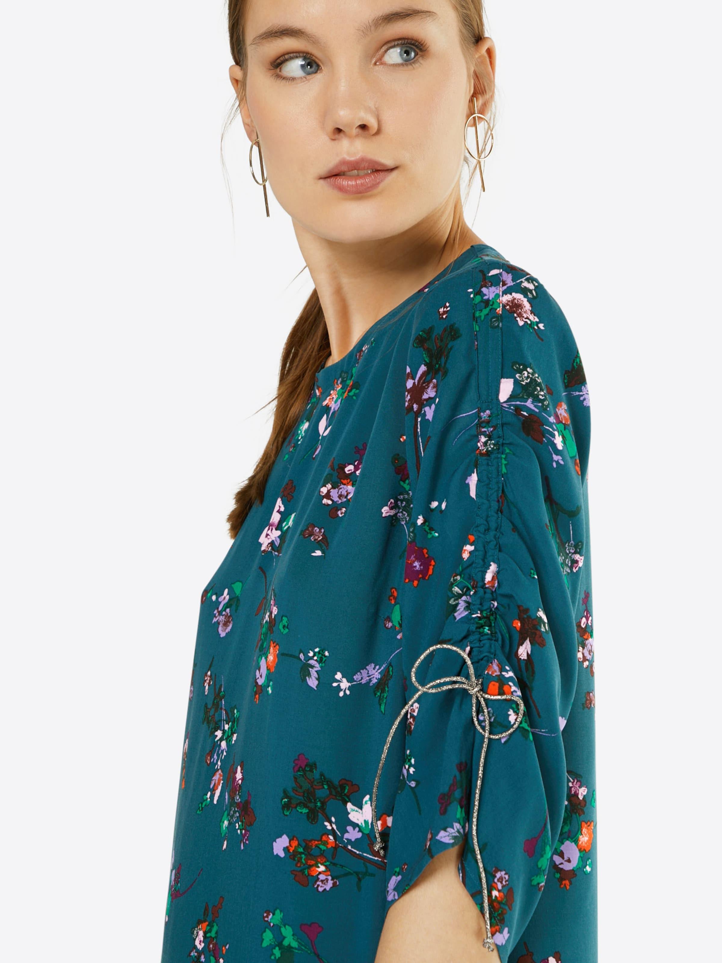 SAINT TROPEZ Kleid 'FLORAL PRINT' Günstig Kaufen Kosten Spielraum Footaction Günstig Kaufen Top-Qualität 7ipecwWt