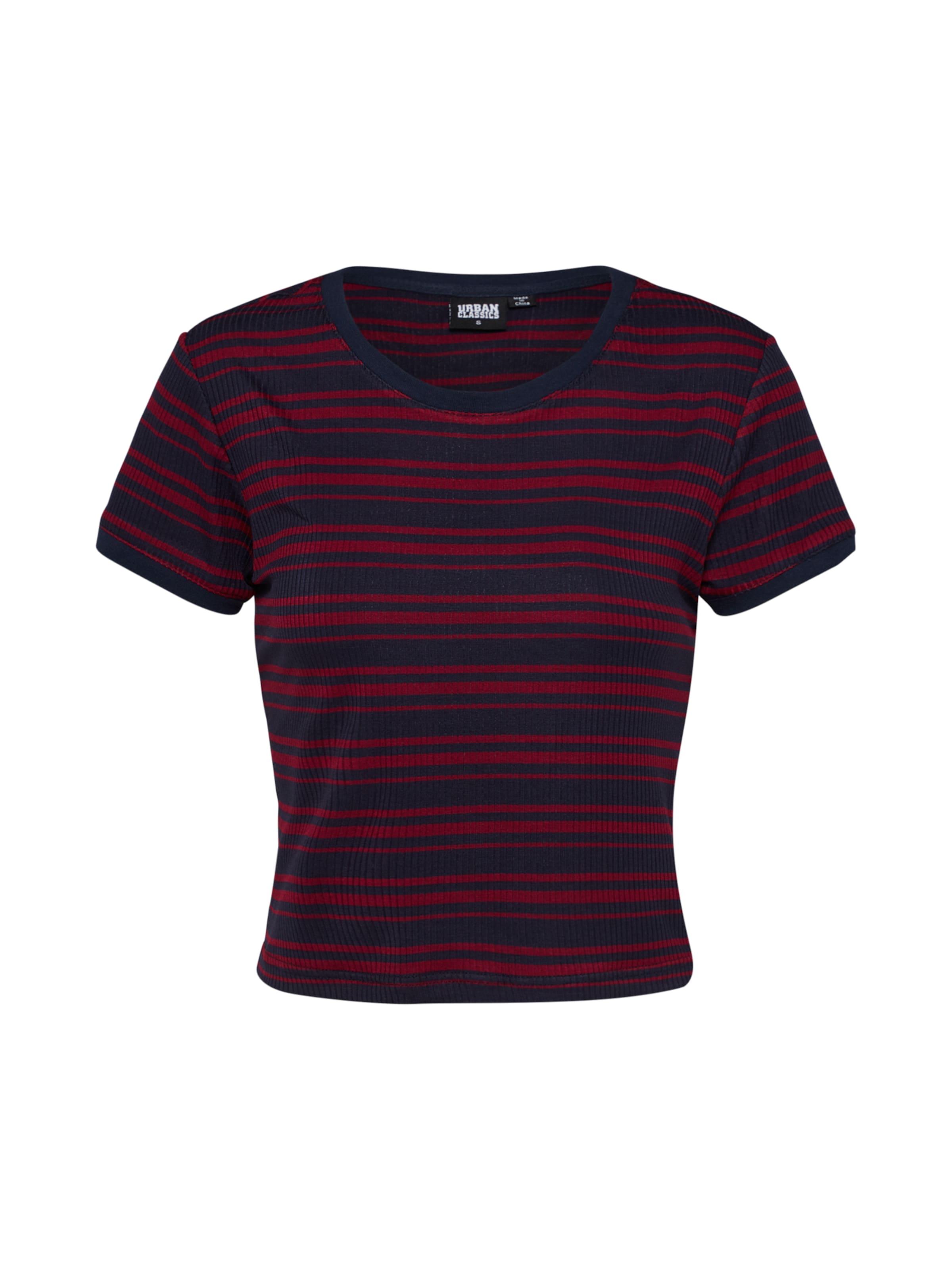 Urban shirt Classics NavyKirschrot In T 8mnNv0wO