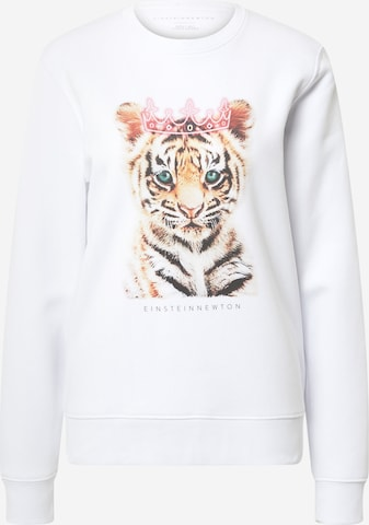 EINSTEIN & NEWTON Sweatshirt 'Baby Queen' i hvit