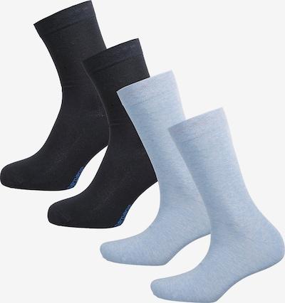 camano Socken in blau / schwarz, Produktansicht