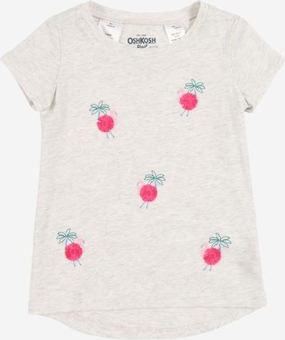 Marškinėliai iš OshKosh , spalva - šviesiai pilka / žolės žalia / rožinė, Prekių apžvalga