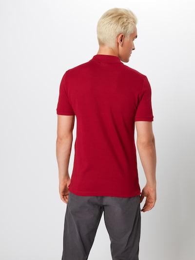 LACOSTE Shirt in de kleur Bordeaux: Achteraanzicht