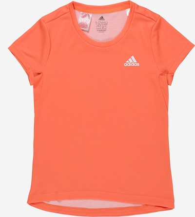 ADIDAS PERFORMANCE T-Shirt 'Aeroready' in orange / weiß, Produktansicht